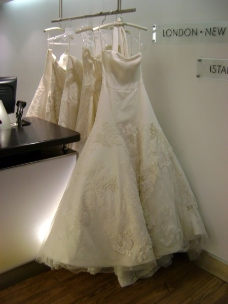 Vera Wang Gowns at Jeeves NYC