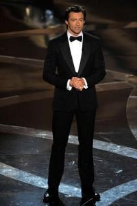 Hugh Jackman at the Oscars.