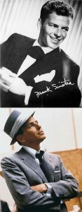 Frank Sinatra with pocket square