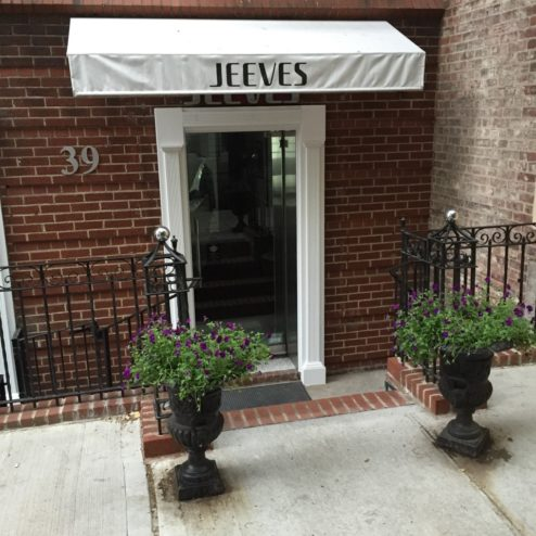 Jeeves NYC Dry Cleaner exterior