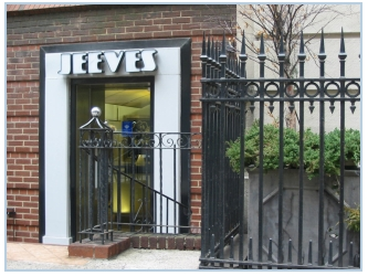 Jeeves New York shop front.