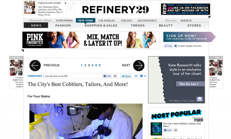 Best Dry Cleaner New York, Refinery 29