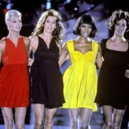Linda Evangelista, Cindy Crawford, Naomi Campbell and Christy Turlington for Gianni Versace in the 90's